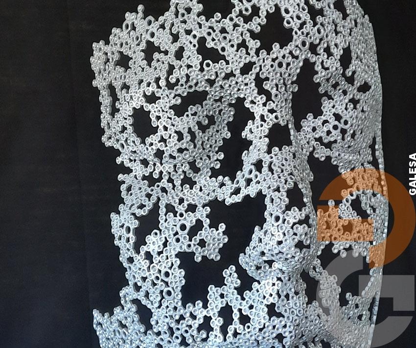 Escultura Galvanizada de Manuel Martí Moreno -