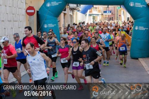 carrera 10k cheste galesa 50 aniversario 2016
